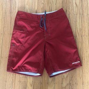 PATAGONIA red swim shorts